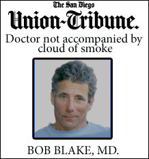 medical marijuana doctor bob blake san diego union tribune